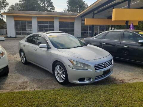 2012 Nissan Maxima for sale at PIRATE AUTO SALES in Greenville NC