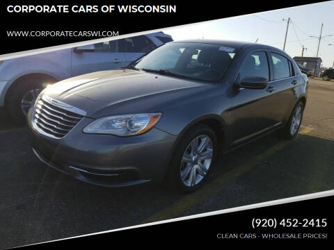 2013 Chrysler 200 for sale at CORPORATE CARS OF WISCONSIN in Sheboygan WI