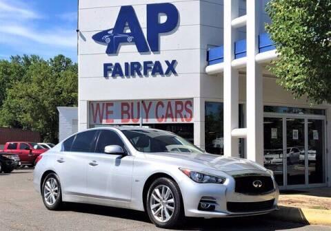 2016 Infiniti Q50 for sale at AP Fairfax in Fairfax VA