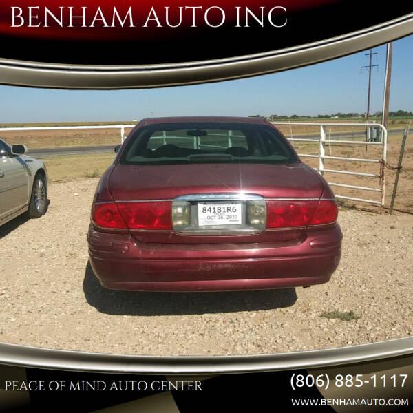 2000 Buick LeSabre for sale at BENHAM AUTO INC in Lubbock TX