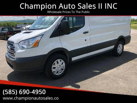 2018 Ford Transit Cargo for sale at Champion Auto Sales II INC in Rochester NY
