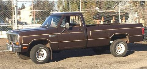 1981 Dodge Ram for sale at Classic Car Deals in Cadillac MI