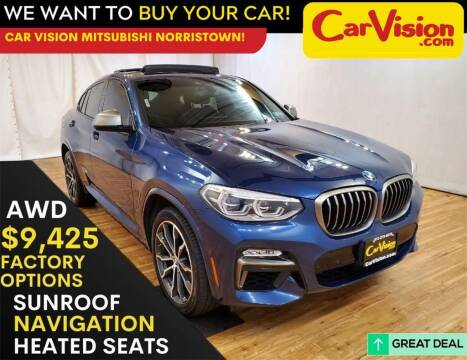 2019 BMW X4 for sale at Car Vision Mitsubishi Norristown in Trooper PA