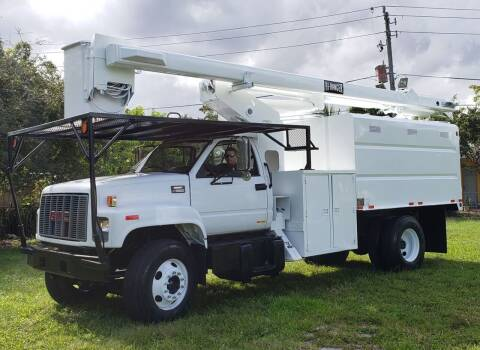 2002 GMC C7500 for sale at American Trucks and Equipment in Hollywood FL