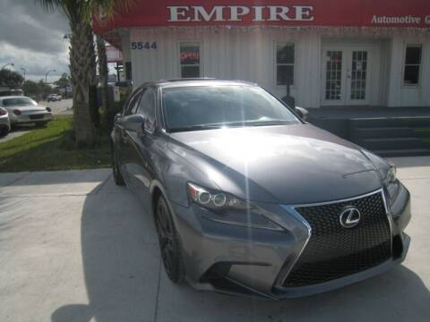 2015 Lexus IS 250 for sale at Empire Automotive Group Inc. in Orlando FL
