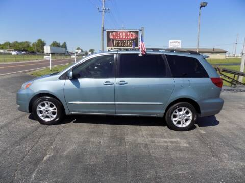 2004 Toyota Sienna for sale at MYLENBUSCH AUTO SOURCE in O` Fallon MO