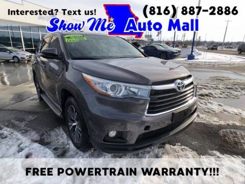 2016 Toyota Highlander for sale at Show Me Auto Mall in Harrisonville MO