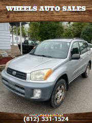 2001 Toyota RAV4 for sale at Wheels Auto Sales in Bloomington IN
