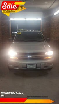 2008 Chevrolet TrailBlazer for sale at Shamrock Auto Brokers, LLC in Belmont NH