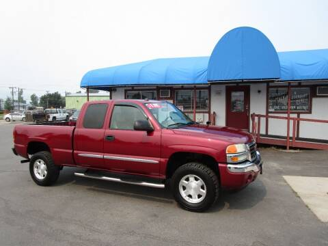 2005 GMC Sierra 1500 for sale at Jim's Cars by Priced-Rite Auto Sales in Missoula MT
