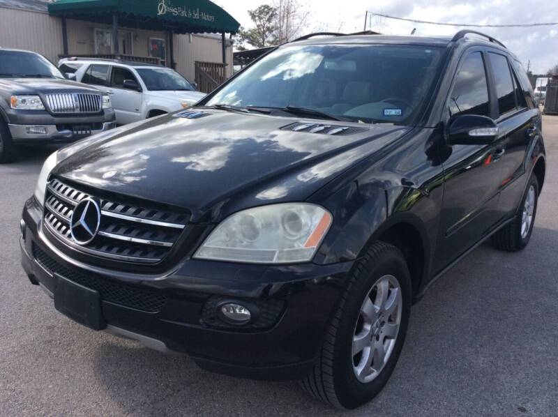 2007 Mercedes-Benz M-Class for sale at OASIS PARK & SELL in Spring TX