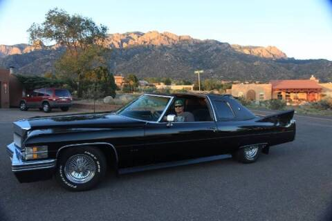 1974 Cadillac DeVille for sale at Classic Car Deals in Cadillac MI