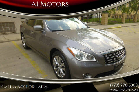 2012 Infiniti M37 for sale at A1 Motors Inc in Chicago IL