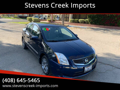 2010 Nissan Sentra for sale at Stevens Creek Imports in San Jose CA