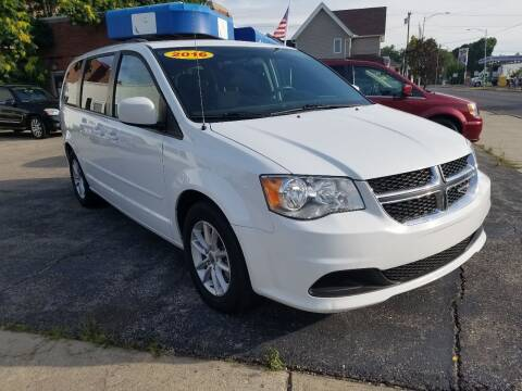2016 Dodge Grand Caravan for sale at BELLEFONTAINE MOTOR SALES in Bellefontaine OH