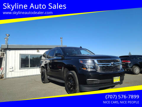 2015 Chevrolet Tahoe for sale at Skyline Auto Sales in Santa Rosa CA
