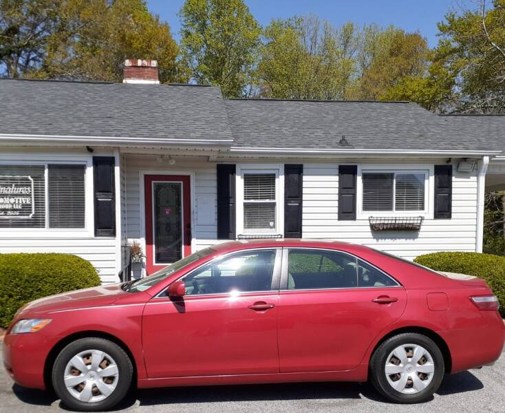 2007 Toyota Camry for sale at SIGNATURES AUTOMOTIVE GROUP LLC in Spartanburg SC