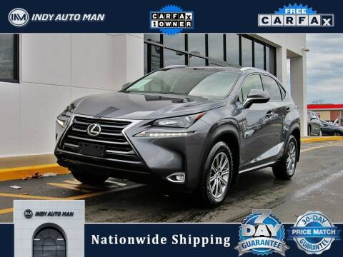 2017 Lexus NX 200t for sale at INDY AUTO MAN in Indianapolis IN