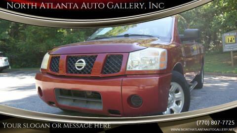 2004 Nissan Titan for sale at North Atlanta Auto Gallery, Inc in Alpharetta GA