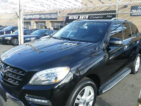 2014 Mercedes-Benz M-Class for sale at Ultra Auto Enterprise in Brooklyn NY