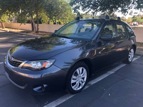 2008 Subaru Impreza for sale at Ideal Cars in Mesa AZ