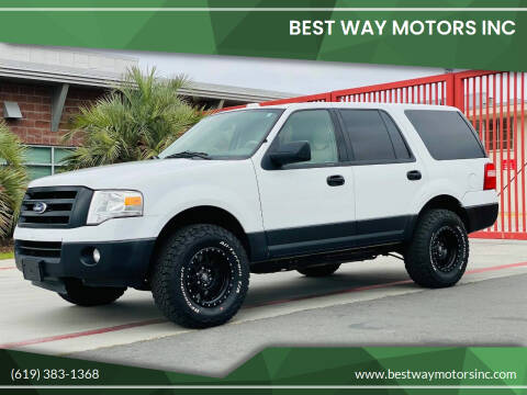 2012 Ford Expedition for sale at BEST WAY MOTORS INC in San Diego CA