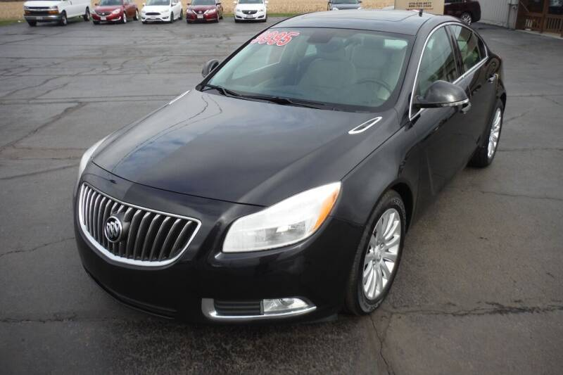 2013 Buick Regal for sale at Bryan Auto Depot in Bryan OH