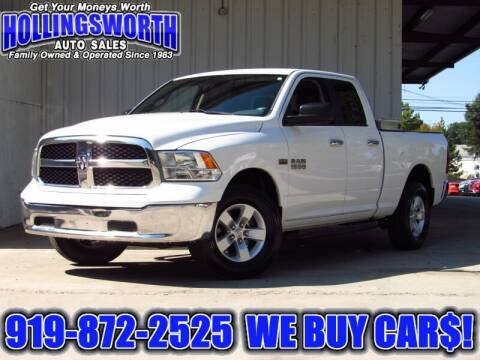 2017 RAM Ram Pickup 1500 for sale at Hollingsworth Auto Sales in Raleigh NC