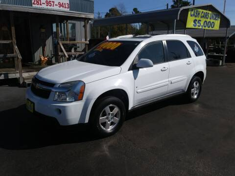 2008 Chevrolet Equinox for sale at Texas 1 Auto Finance in Kemah TX