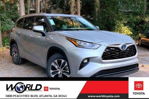 2020 Toyota Highlander Hybrid for sale at CU Carfinders in Norcross GA