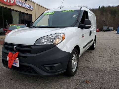 2018 RAM ProMaster City Cargo for sale at Auto Wholesalers Of Hooksett in Hooksett NH