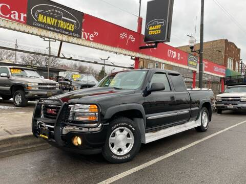 2006 GMC Sierra 1500 for sale at Manny Trucks in Chicago IL