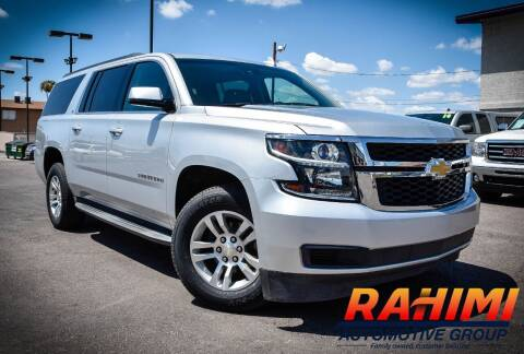 2015 Chevrolet Suburban for sale at Rahimi Automotive Group in Yuma AZ