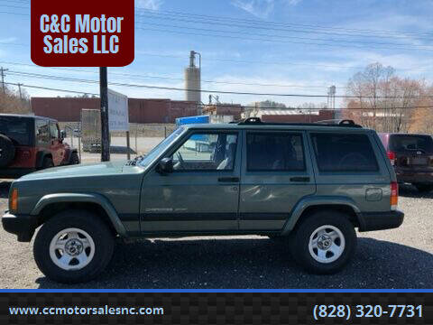 2000 Jeep Cherokee for sale at C&C Motor Sales LLC in Hudson NC