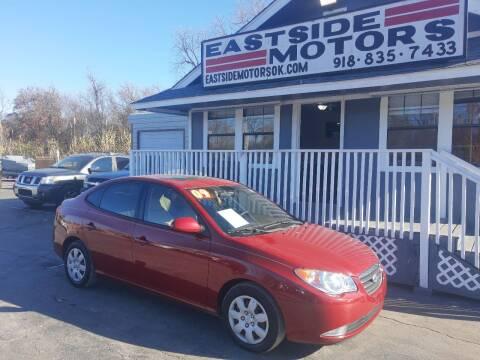 2009 Hyundai Elantra for sale at EASTSIDE MOTORS in Tulsa OK