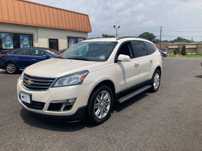 2014 Chevrolet Traverse for sale at Majestic Automotive Group in Cinnaminson NJ