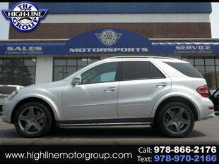 2011 Mercedes-Benz M-Class for sale at Highline Group Motorsports in Lowell MA