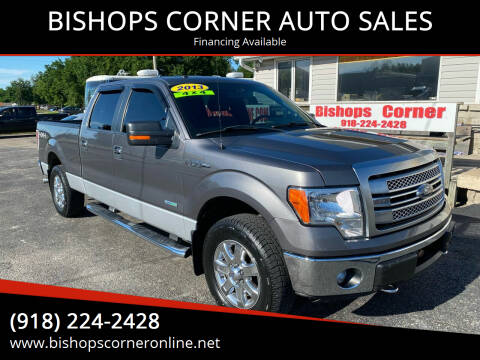 2013 Ford F-150 for sale at BISHOPS CORNER AUTO SALES in Sapulpa OK