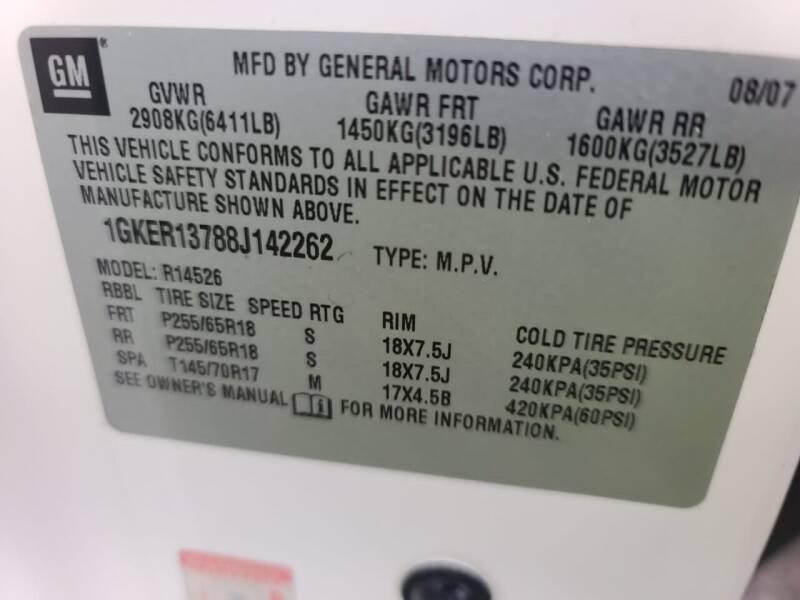 2008 GMC Acadia SLE-1 4dr SUV - Houston TX