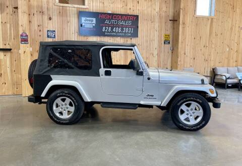 2006 Jeep Wrangler for sale at Boone NC Jeeps-High Country Auto Sales in Boone NC