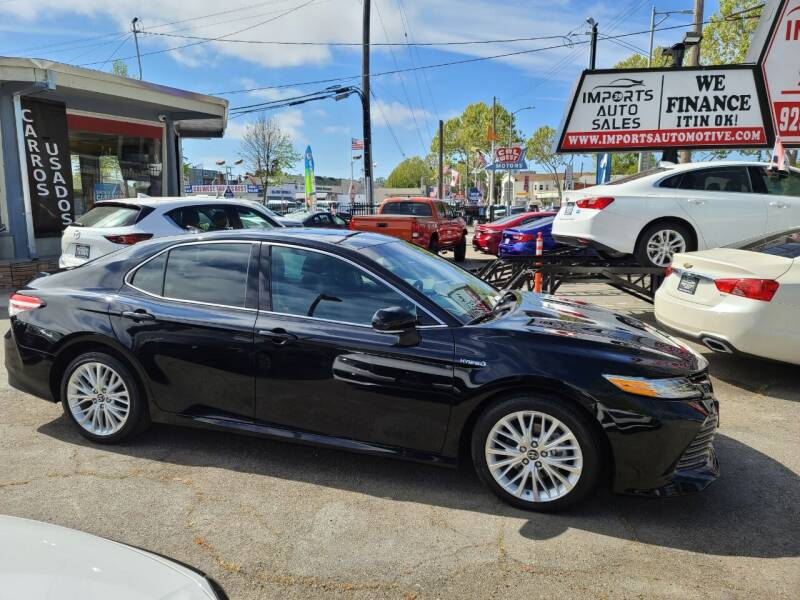 2018 Toyota Camry Hybrid for sale at Imports Auto Sales & Service in San Leandro CA