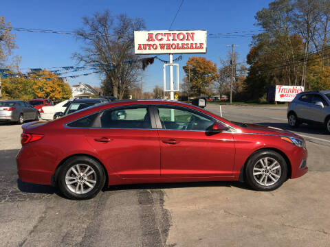 2016 Hyundai Sonata for sale at Action Auto Wholesale in Painesville OH