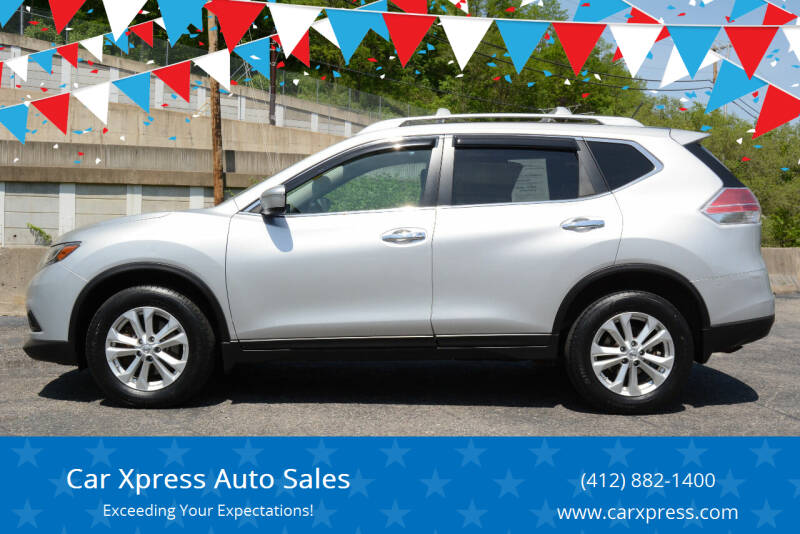2015 Nissan Rogue for sale at Car Xpress Auto Sales in Pittsburgh PA
