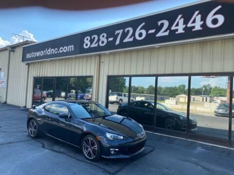 2016 Subaru BRZ for sale at AutoWorld of Lenoir in Lenoir NC