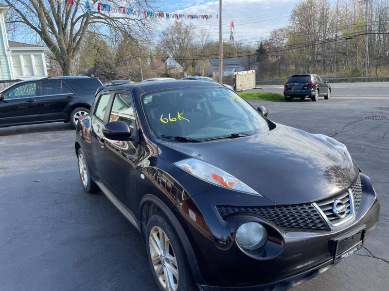 2014 Nissan JUKE for sale at Peter Kay Auto Sales in Alden NY
