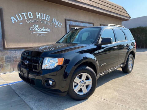 2009 Ford Escape Hybrid for sale at Auto Hub, Inc. in Anaheim CA