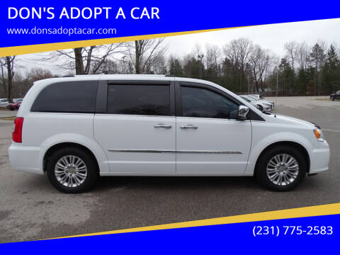 2014 Chrysler Town and Country for sale at DON'S ADOPT A CAR in Cadillac MI