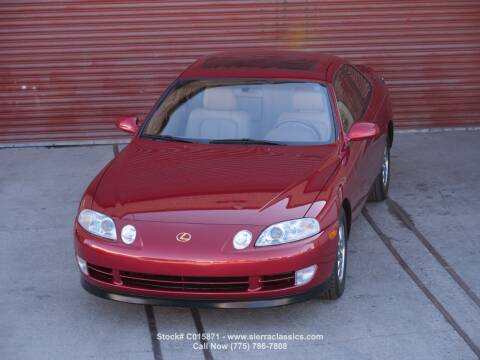 1992 Lexus SC 400 for sale at Sierra Classics & Imports in Reno NV