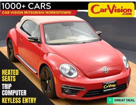 2014 Volkswagen Beetle Convertible for sale at Car Vision Buying Center in Norristown PA