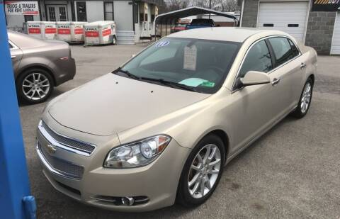 2011 Chevrolet Malibu for sale at RACEN AUTO SALES LLC in Buckhannon WV